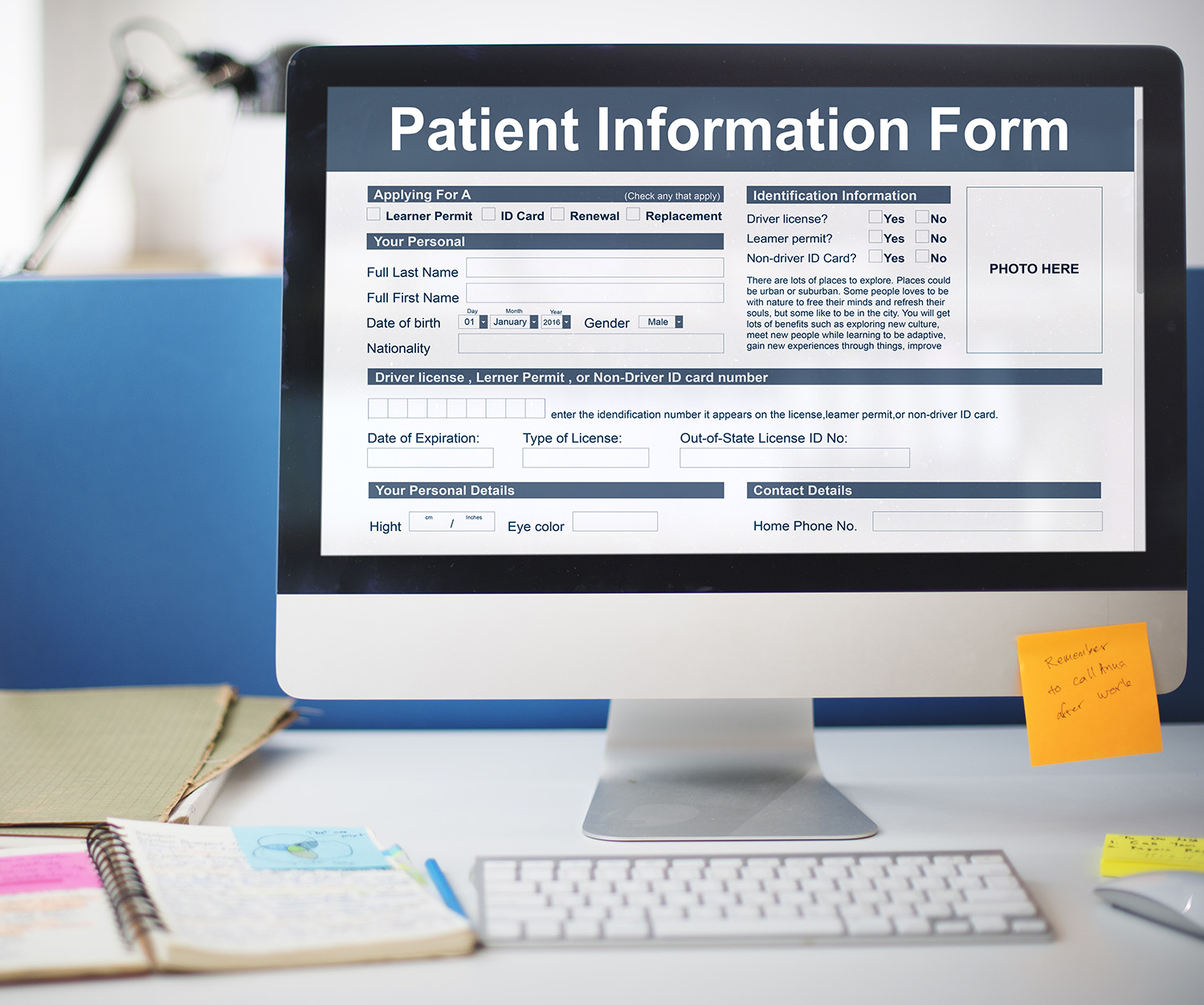 Patient Registration Form - Orange Cosmetic Dentistry - Dr. Seini - California